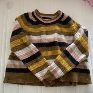 Madewell colorful sweater